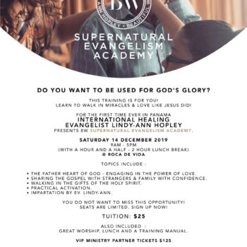Supernatural Evangelism Academy